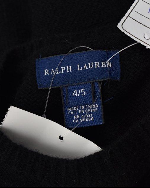 Vestido Infantil Preto Ralph Lauren