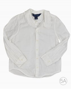 Camisa Infantil Branco Ralph Lauren