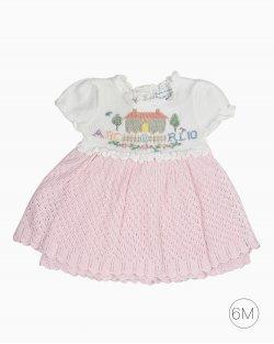 Vestido Infantil Tricot Ralph Lauren