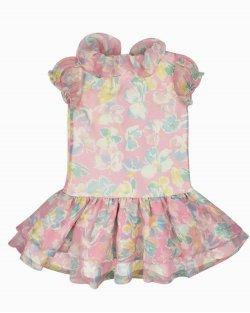 Vestido Floral Infantil Ralph Lauren