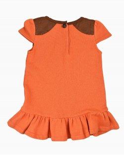 Vestido Laranja Ralph Lauren Infantil