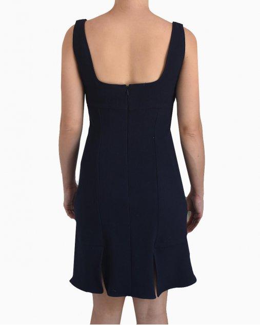 Vestido Dior Azul Marinho