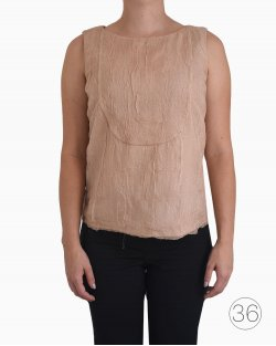 Blusa Chanel Seda Rose