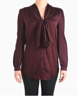 Camisa Burberry Burgundy