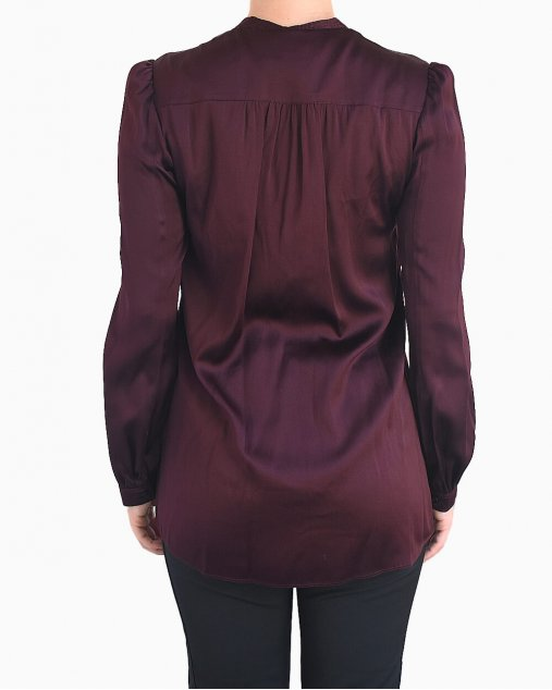 Camisa Burberry Burgundy