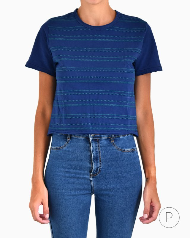 Cropped Top Talie Nk Azul