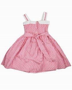 Vestido Bella Bliss Âncoras Infantil Rosa