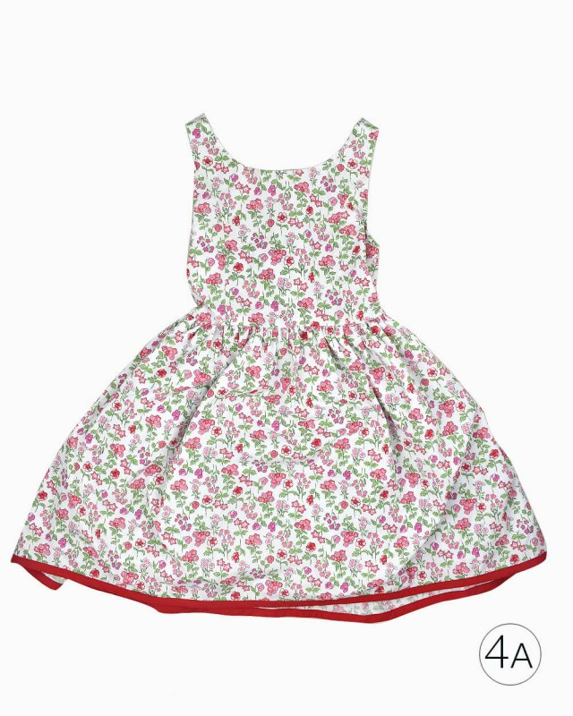 Vestido Bella Bliss Infantil Floral