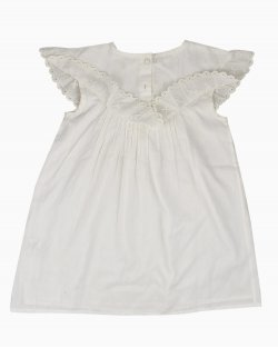 Vestido Louis Louise Infantil Off White