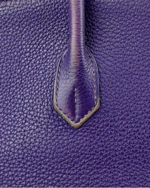 Bolsa Hermes Birkin 35 Togo Violine Violeta