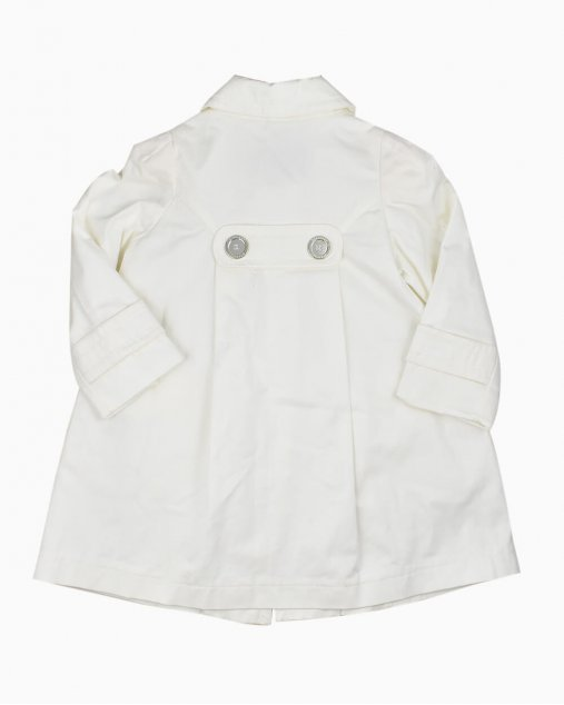 Trench Coat Burberry Off White Infantil