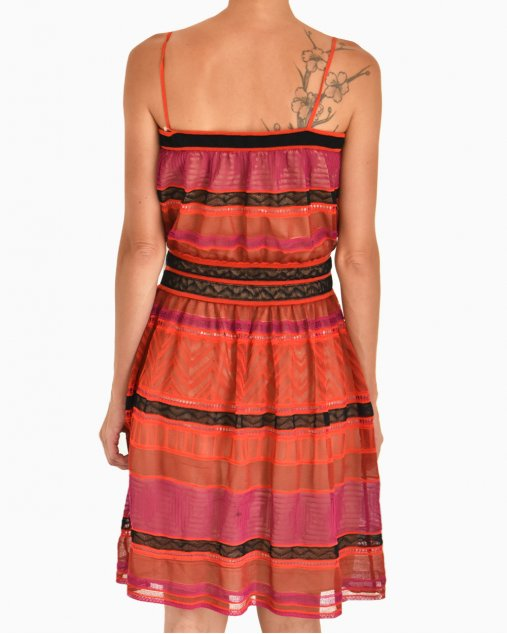 Vestido Missoni Tricolor