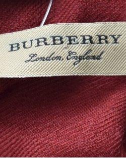 Lenço Burberry Estampado Vermelho