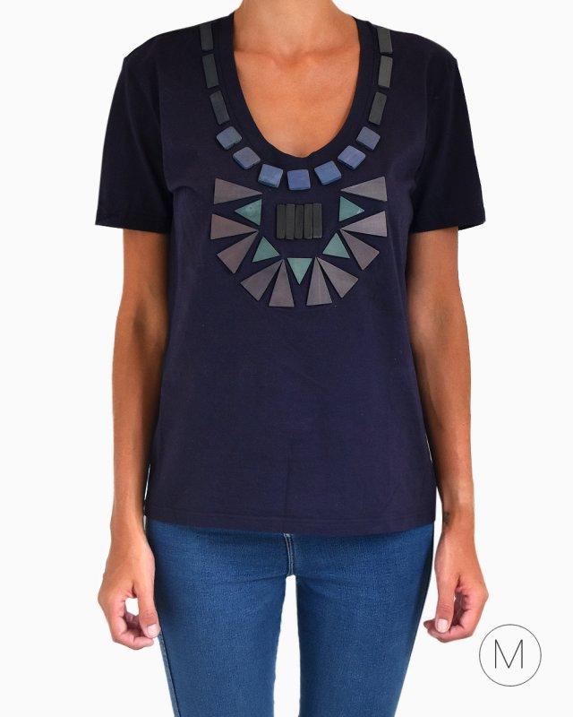 T-shirt Burberry Azul