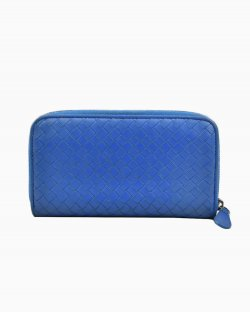 Carteira Bottega Veneta Azul