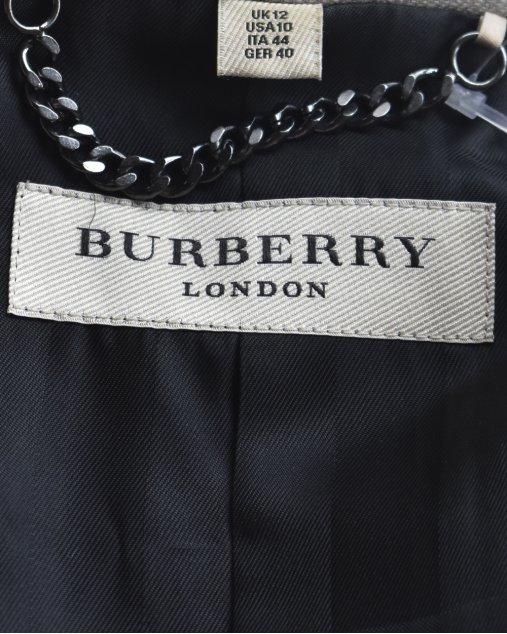 Casaco Burberry Duffle London Cinza