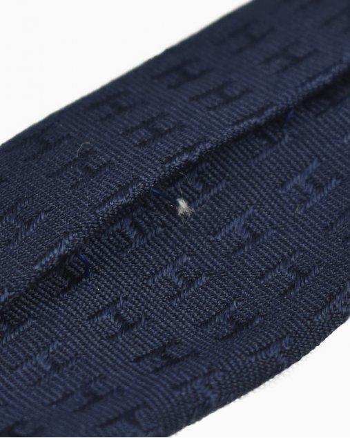 Gravata Hermès Azul Marinho