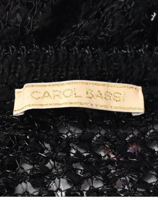 Cardigan Carol Bassi Preto