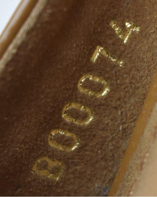 Sapato Louis Vuitton Caramelo