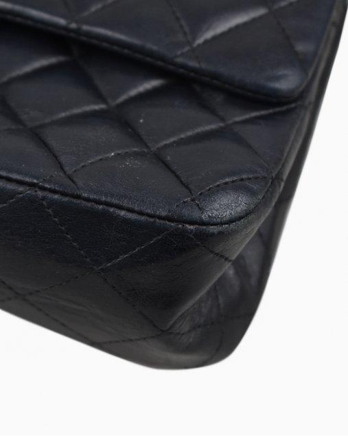 Bolsa Chanel Double Flap Média Preta