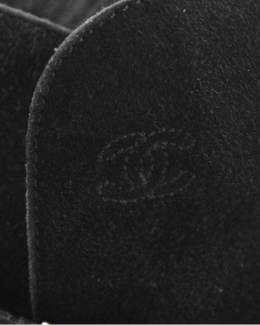 Bota Chanel Preta