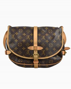 Bolsa Louis Vuitton Saumur Monograma  MM