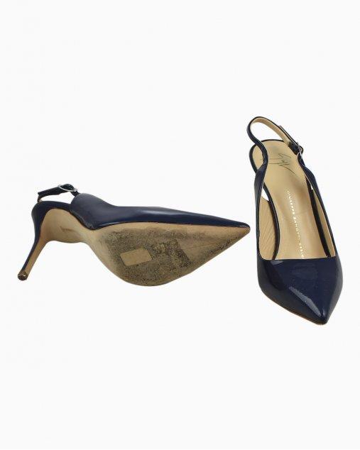 Sapato Giuseppe Zanotti Azul Marinho
