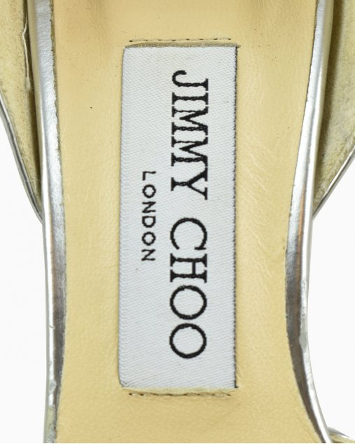 Sapato Jimmy Choo Esther Prateado