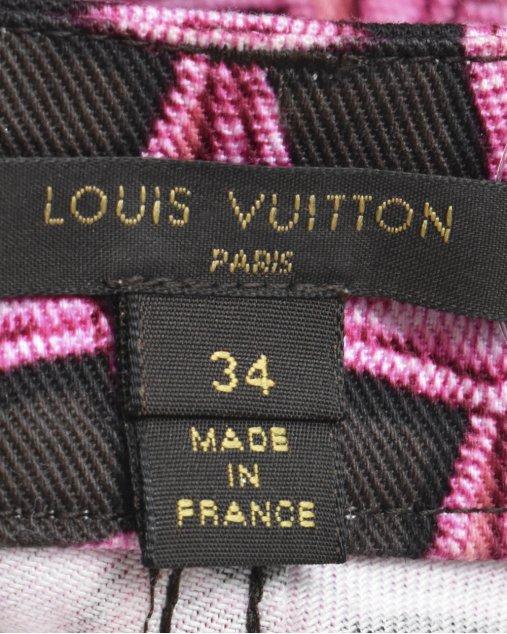 Calça Louis Vuitton Estampado