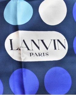 Lenço Lanvin Estampado