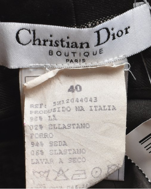 Calça Christian Dior Listrada