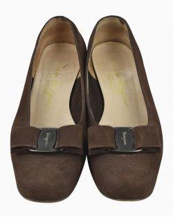 Sapato Salvatore Ferragamo Marrom