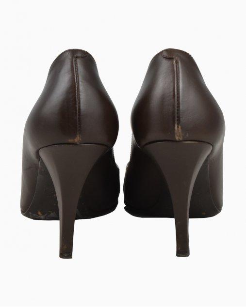 Sapato Christian Dior Marrom