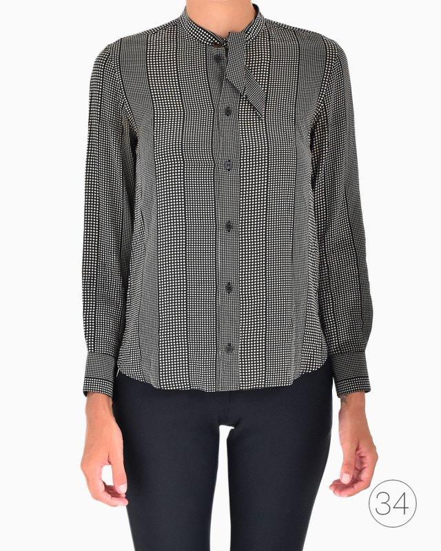 Camisa Yves Saint Laurent Estampada