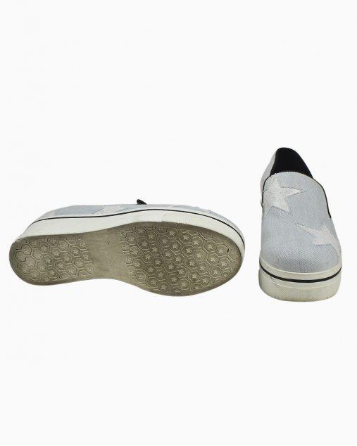 Sapato Slip- On Stella McCartney Azul