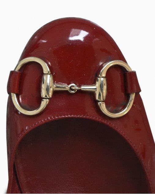 Sapatilha Gucci Vermelha de Verniz