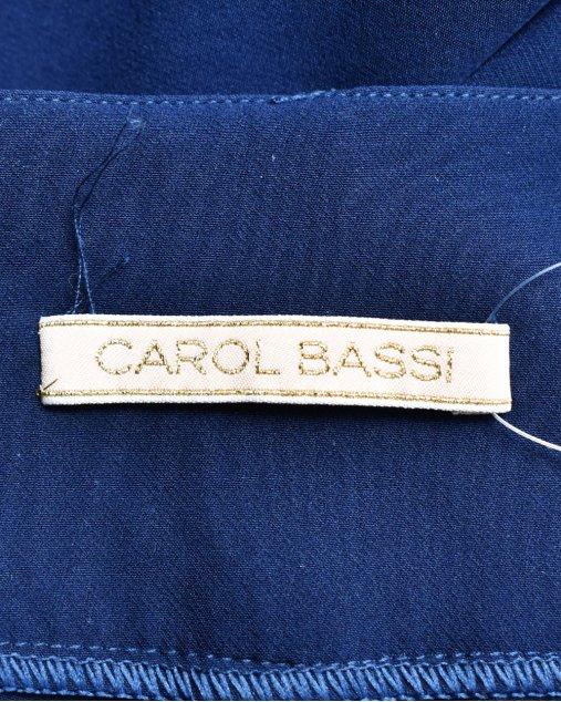 Calça Carol Bassi Charleston Azul