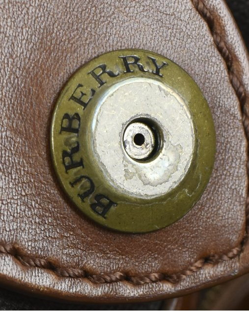 Bolsa Burberry Smoked Check  Northfield