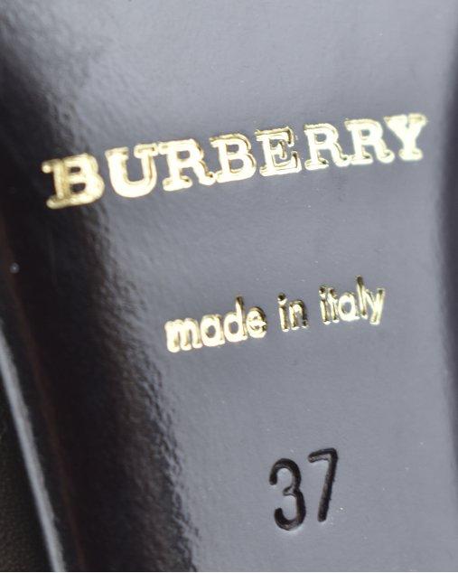 Bota Burberry Marrom