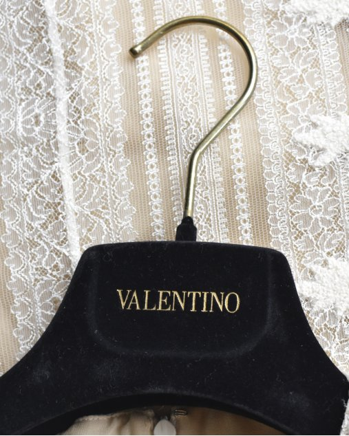 Vestido Valentino Off White