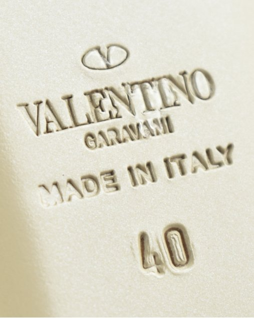 Sapatilha Valentino Rockstud Nude