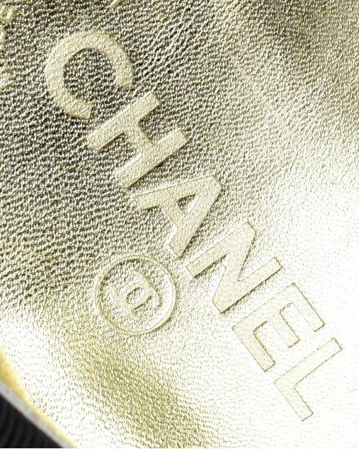 Sapatilha Chanel Camurça Preto