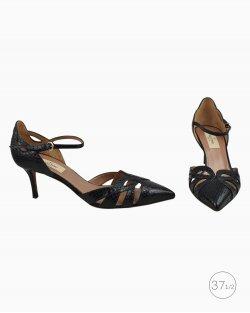 Sapato Valentino Phyton Preto