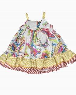 Vestido Roberto Cavalli Infantil Estampado