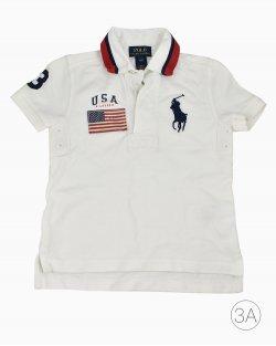 Polo Ralph Lauren Infantil Branca
