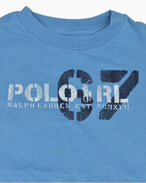 Camiseta Polo Ralph Lauren Infantil Azul Clara