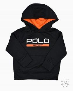 Blusa Polo Sport Ralph Lauren Infantil Preta