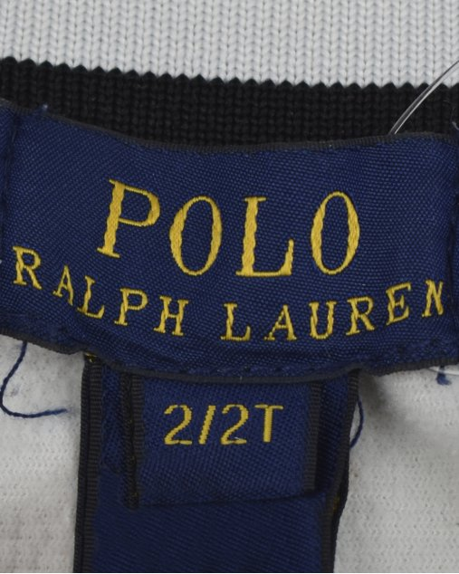 Blusa Polo Ralph Lauren Infantil Tricolor