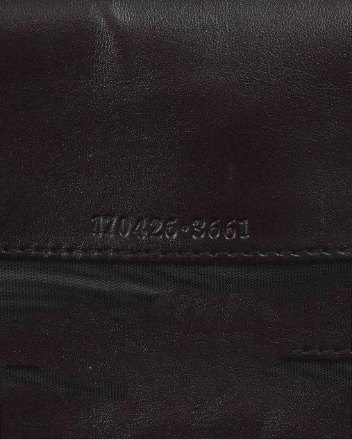 Clutch Taupe Gucci Monograma Marrom