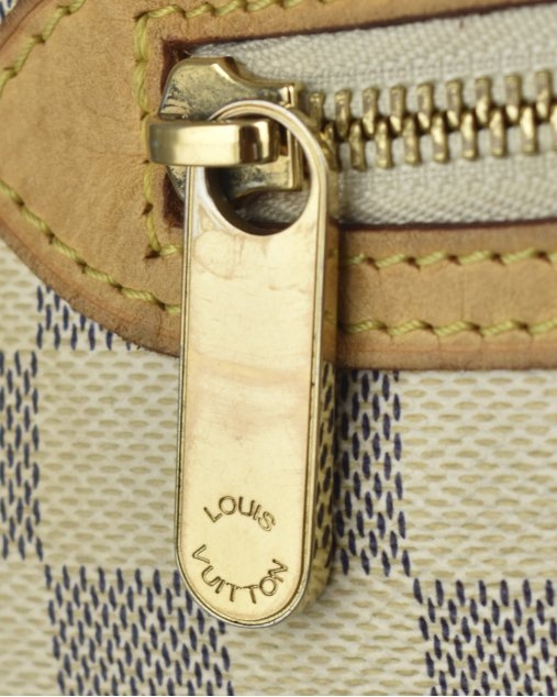 Bolsa Louis Vuitton Damier Azur Canvas Saleya